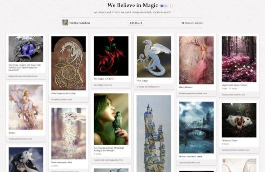 Magic and Fantasy Board on Pinterest | Ermilia