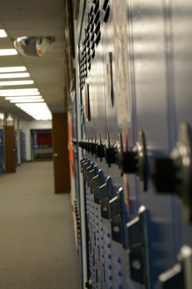 locker school
