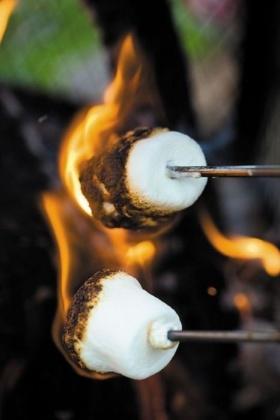 marshmello on fire