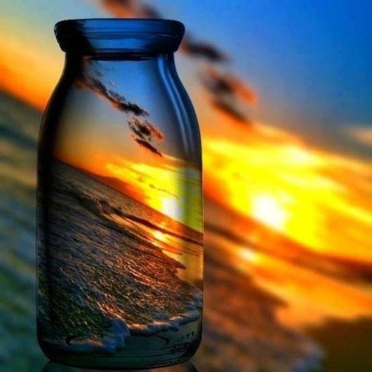 sunset-jar