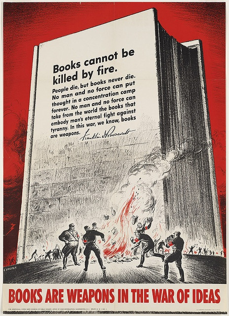 Books cannot be killed by fire quote