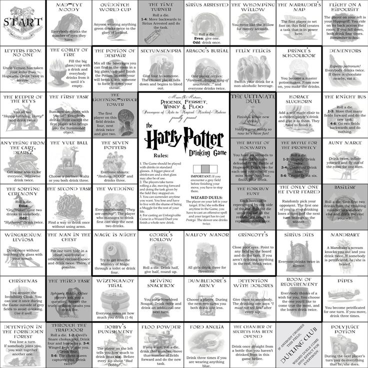 Harry Potter Trinkspiel
