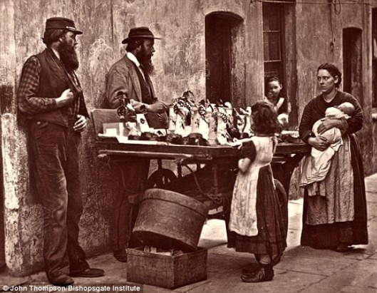 by John Thompson . Taken from this article http://www.dailymail.co.uk/news/article-2123212/Black-white-pictures-capture-lives-Londoners-1800s.html