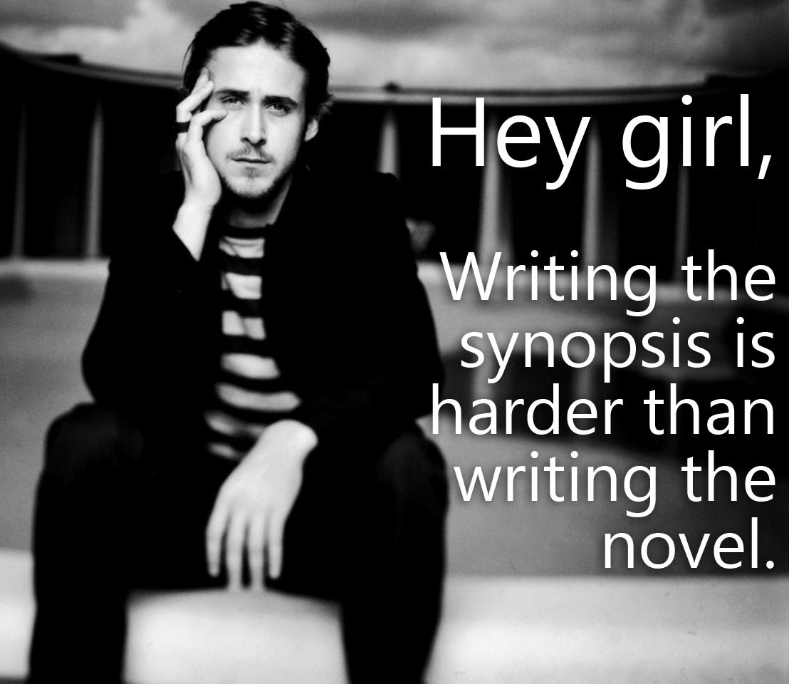 do you find the synopsis hard to write? | ermilia