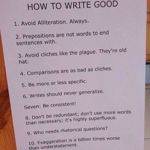 How to write an author