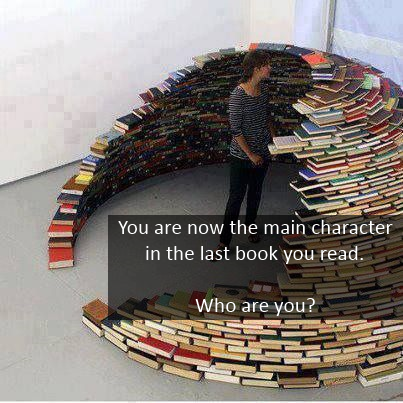You are now the main character in the last book you read. Who are you?