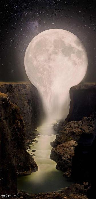 crying moon