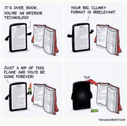 paperback-versus-kindle-tablet