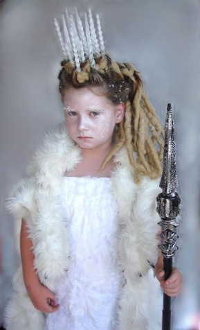 Ice queen from Narnia